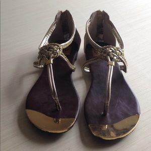 Dolce Vita gold sandal